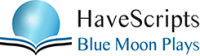 HaveScripts Blue Moon Plays Logo