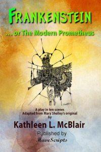 Frankenstein Play Script Book Cover