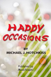 Happy Occasions Play Script Book Cover