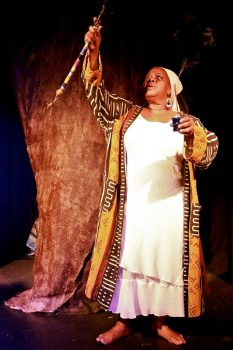 nat turner's last struggle -production photo