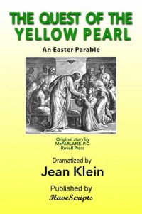 The Quest of the Yellow Pearl Easter Parable Play Script Book Cover