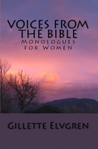 book cover Voices from the Bible - Monologues for Women