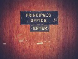door to school principals office