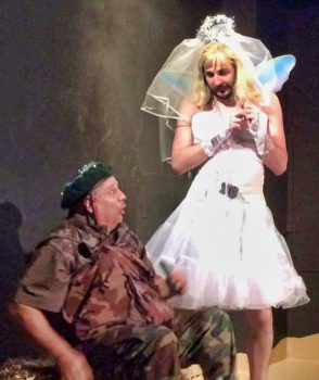 angels inc. christmas comedy angel and soldier