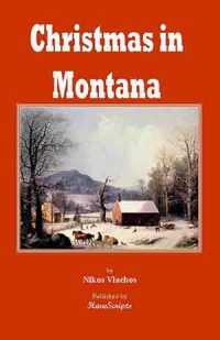 Christmas in Montana play script book cover