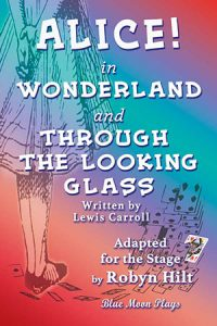 alice in wonderland and through the looking glass front cover